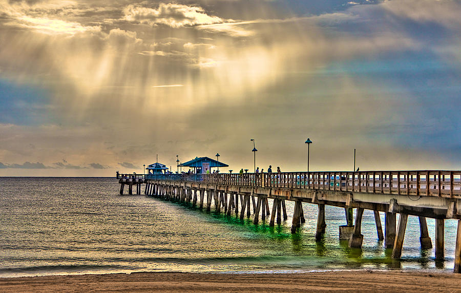 Florida fishing pier by william wetmore for Fishing piers in florida