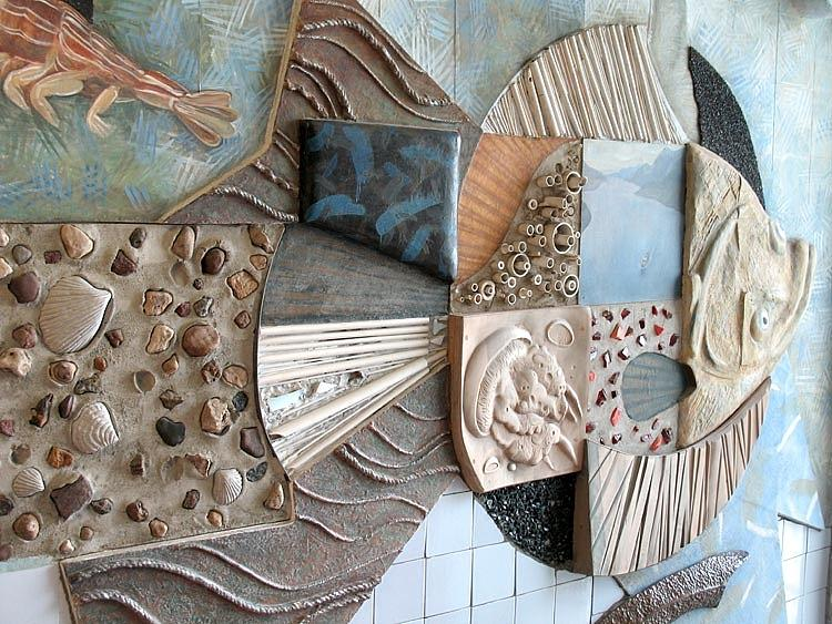 Flounder. Kindergarten Interior. 1988 Sculpture
