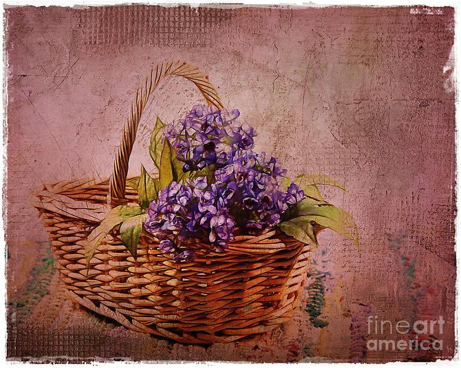 Flower Basket Photograph