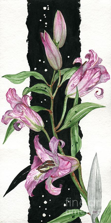 узкая картинка цветы