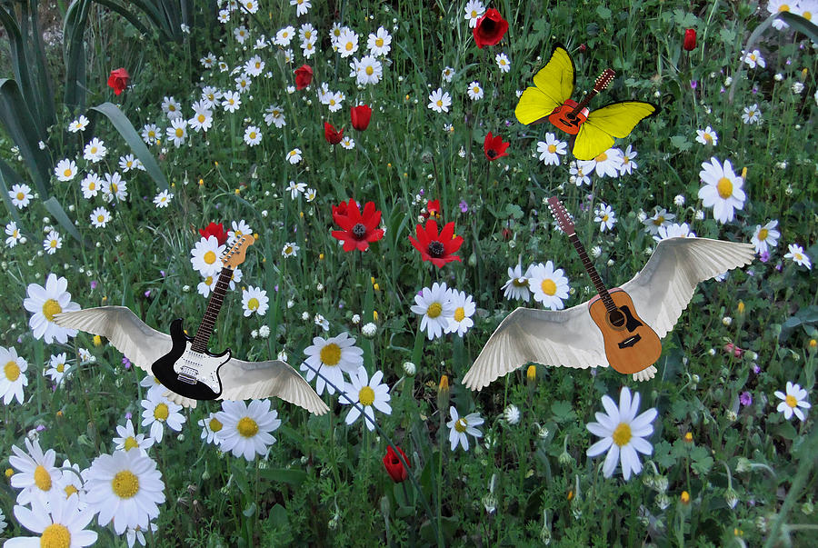 Flower Power  Digital Art by Eric Kempson