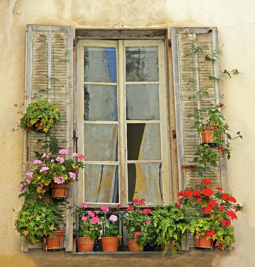 French Balcony Garden Provence France