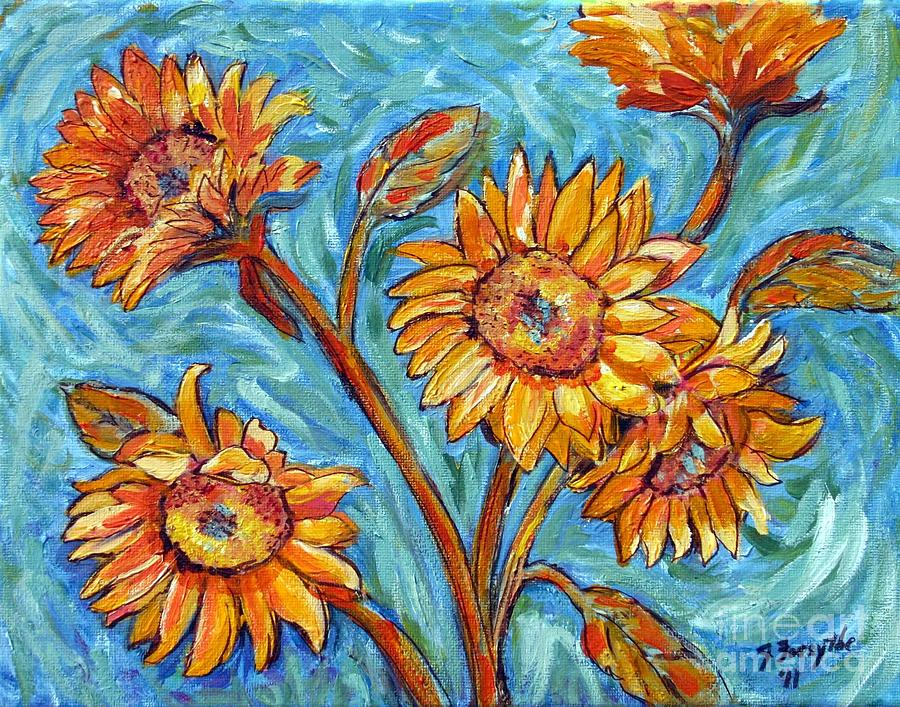 Vincent van Gogh Flowers and Floral Paintings