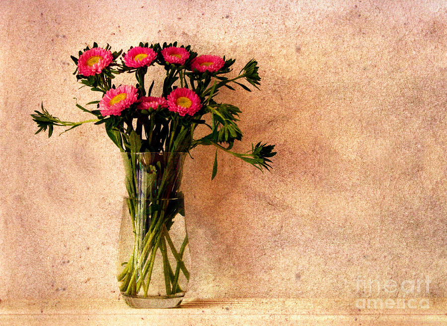 Flowers In A Vase Photograph