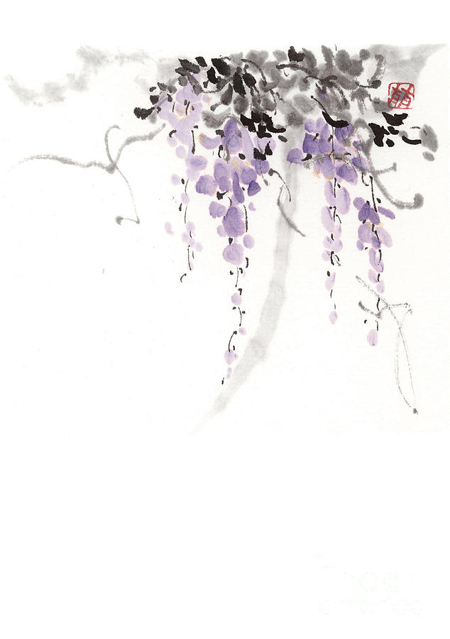 Flower Drawing - Flowers by Japan collection
