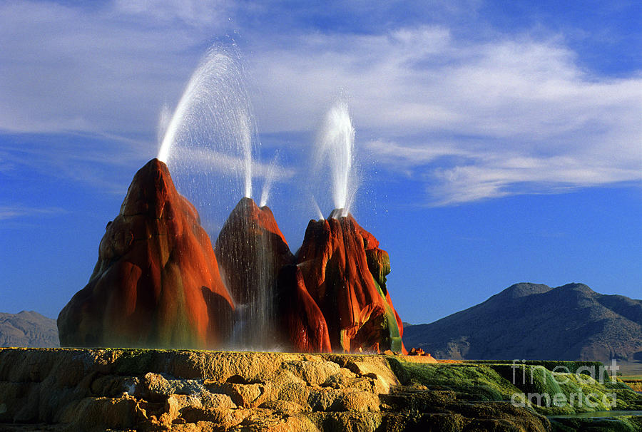Most Beautiful Places In The United States Fly Geyser
