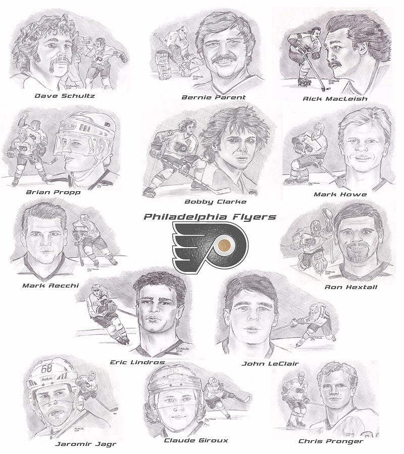 Flyer Greats Drawing