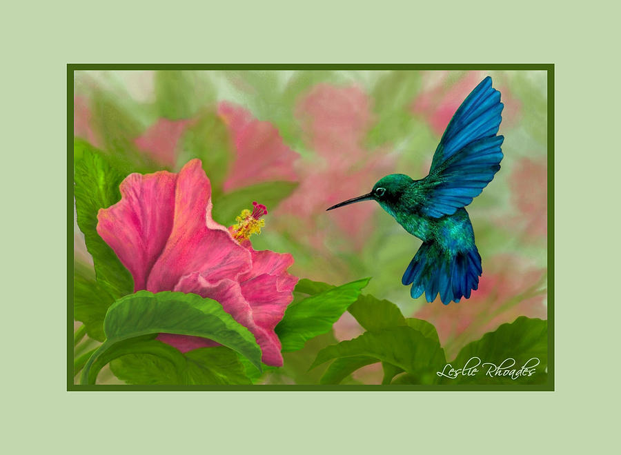 Flying Colors Drawing  - Flying Colors Fine Art Print