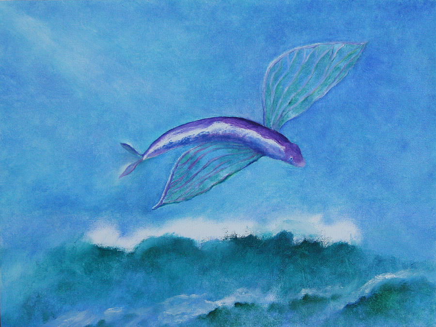 Flying fish by rf hauver for Flying fish images