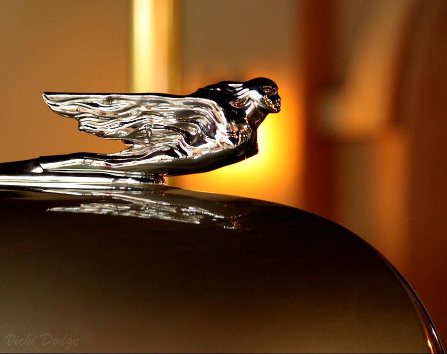 flying lady hood ornament photograph. Black Bedroom Furniture Sets. Home Design Ideas