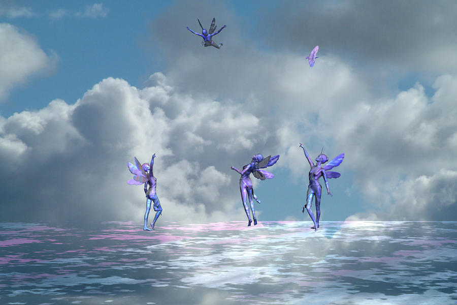 Flying Lessons Digital Art