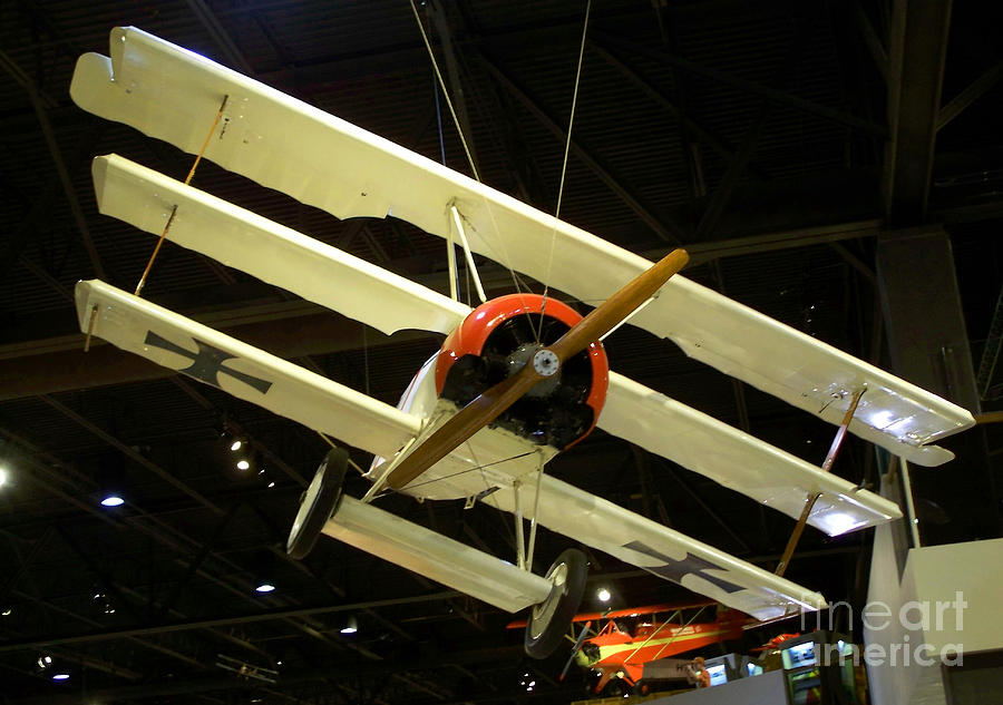 Focker Tri-plane Photograph
