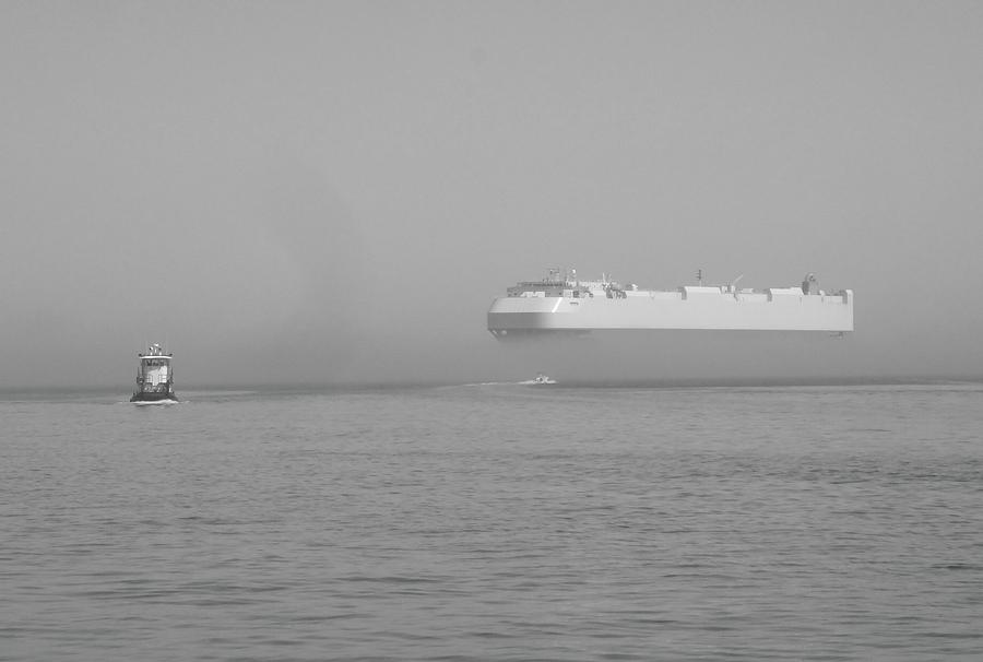 Fogs Floating Barge Relief