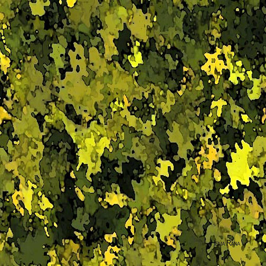 Foliage Digital Art  - Foliage Fine Art Print