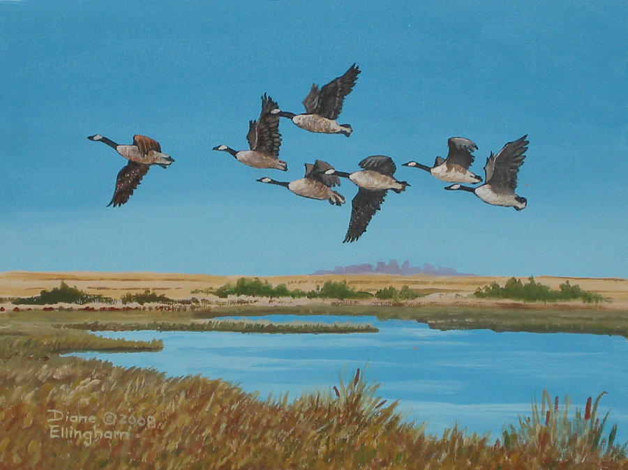 Follow The Leader Painting  - Follow The Leader Fine Art Print