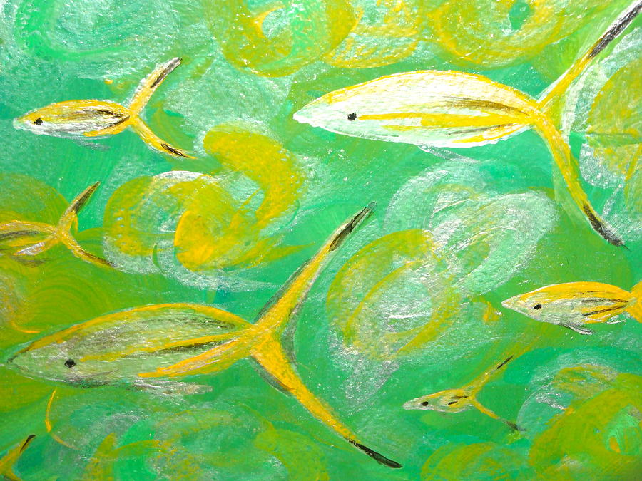 Following Friends Painting  - Following Friends Fine Art Print