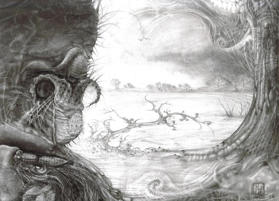 Fomorii Swamp Drawing