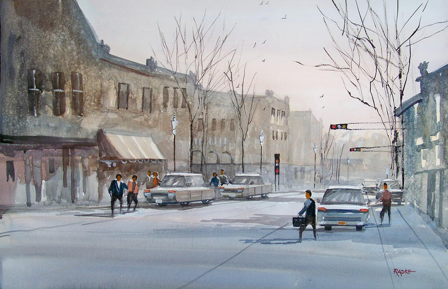 Fond Du Lac - Downtown Painting