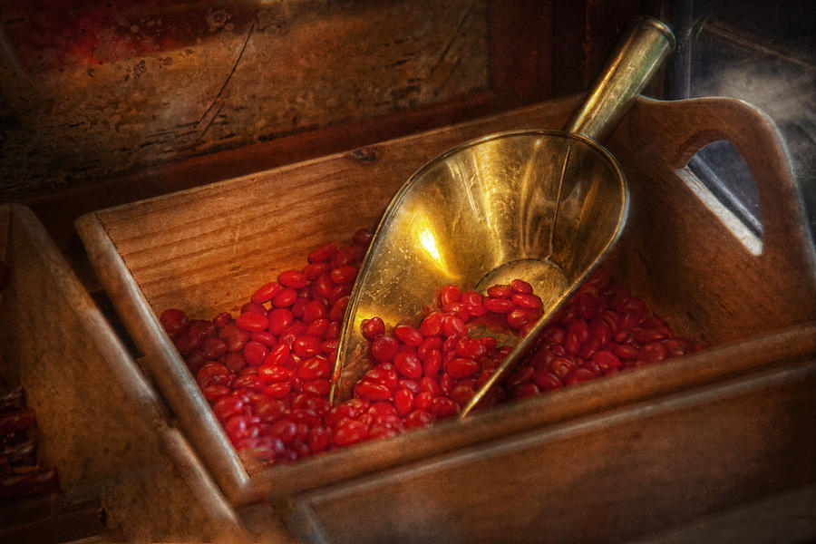 Chef Photograph - Food - Candy - Hot Cinnamon Candies  by Mike Savad