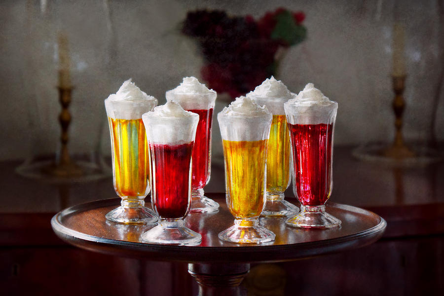 Parfait Photograph - Food - Sweet - Lets Parfait All Night  by Mike Savad