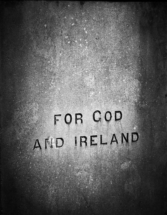 For God And Ireland Macroom Ireland Photograph