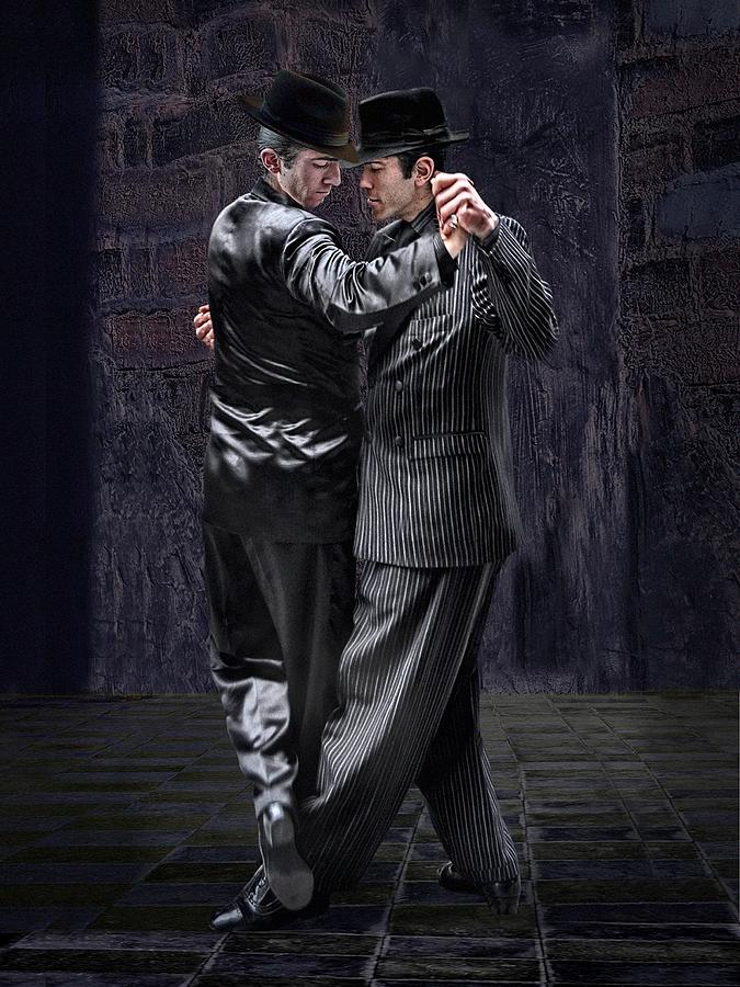 For Men Only - Tango Series Photograph  - For Men Only - Tango Series Fine Art Print