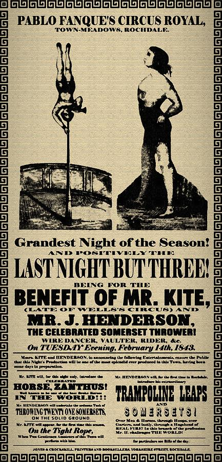 For The Benefit Of Mr Kite Digital Art  - For The Benefit Of Mr Kite Fine Art Print