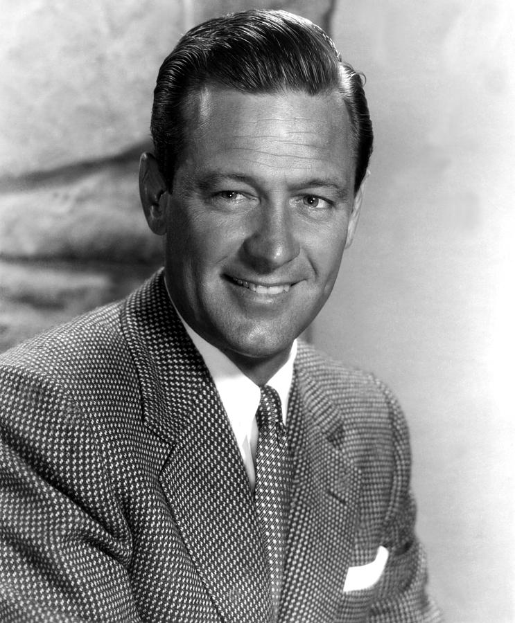 1950s Portraits Photograph - Force Of Arms, William Holden, 1951 by Everett