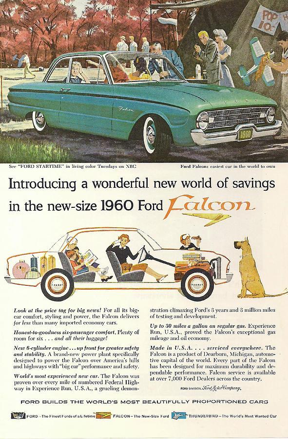 Ford Falcon Digital Art