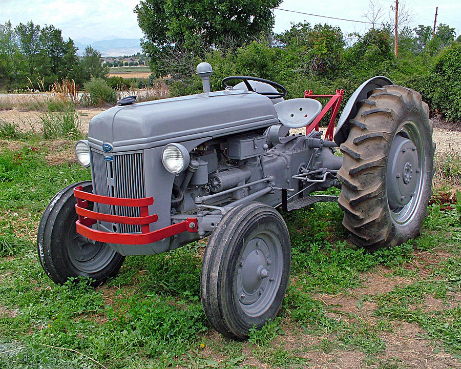 Ford Farm Tractors : Ford farm tractor photograph by ken smith