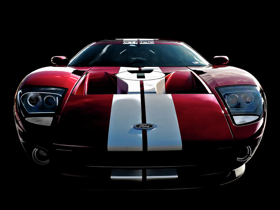 Ford Gt Digital Art