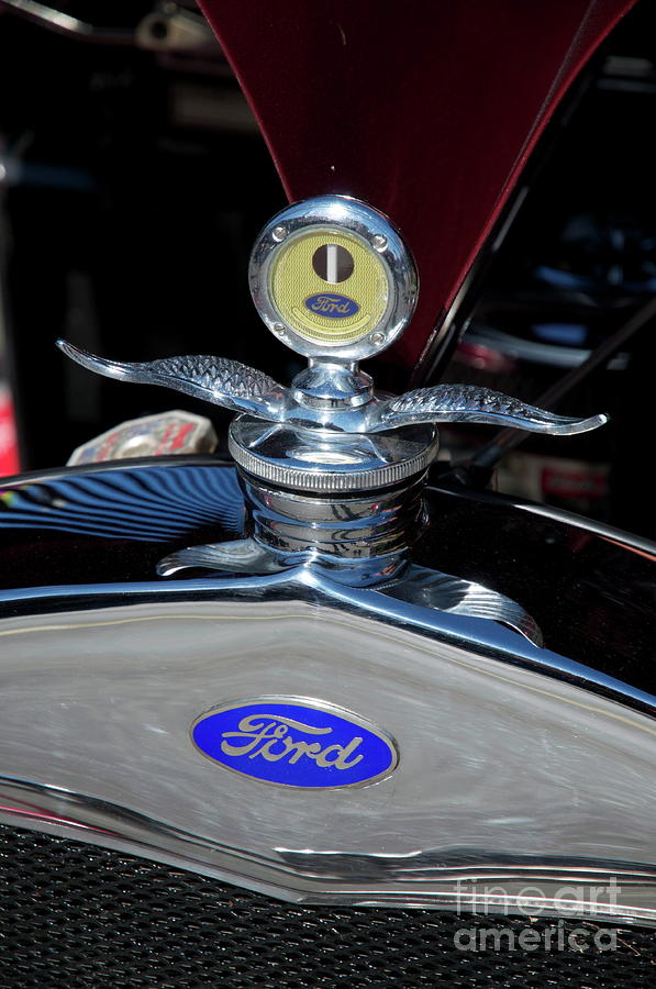 Ford Hood Piece Photograph