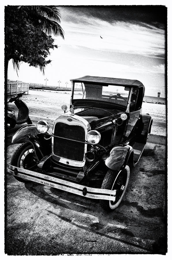 Ford Model T Film Noir Photograph  - Ford Model T Film Noir Fine Art Print