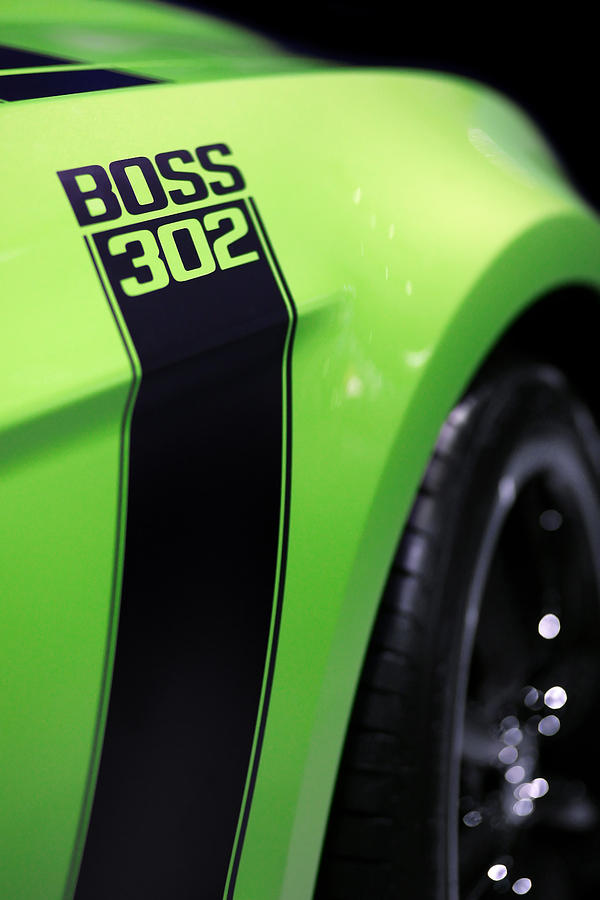 Ford Mustang - Boss 302 Photograph  - Ford Mustang - Boss 302 Fine Art Print