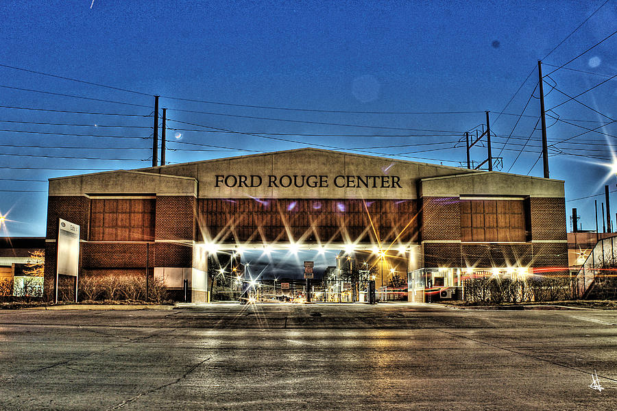 Ford Rouge Center Dearborn Mi is a photograph by Nicholas Grunas which ...