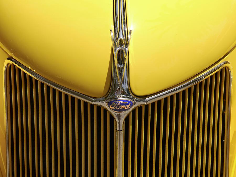 Transportation Photograph - Ford V8 by Mike McGlothlen