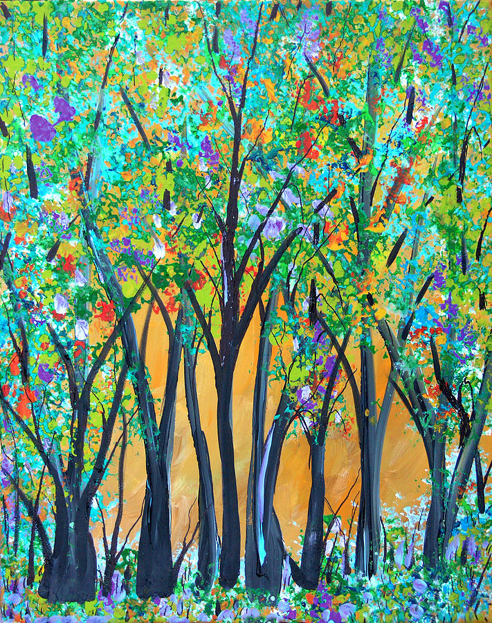Forest Jubilee Painting