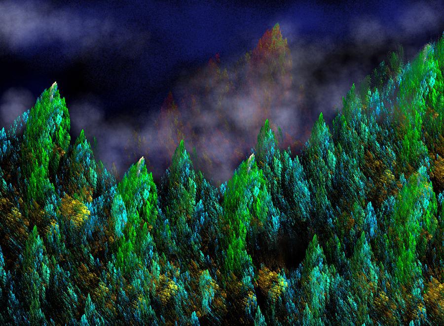 Forest Primeval Digital Art