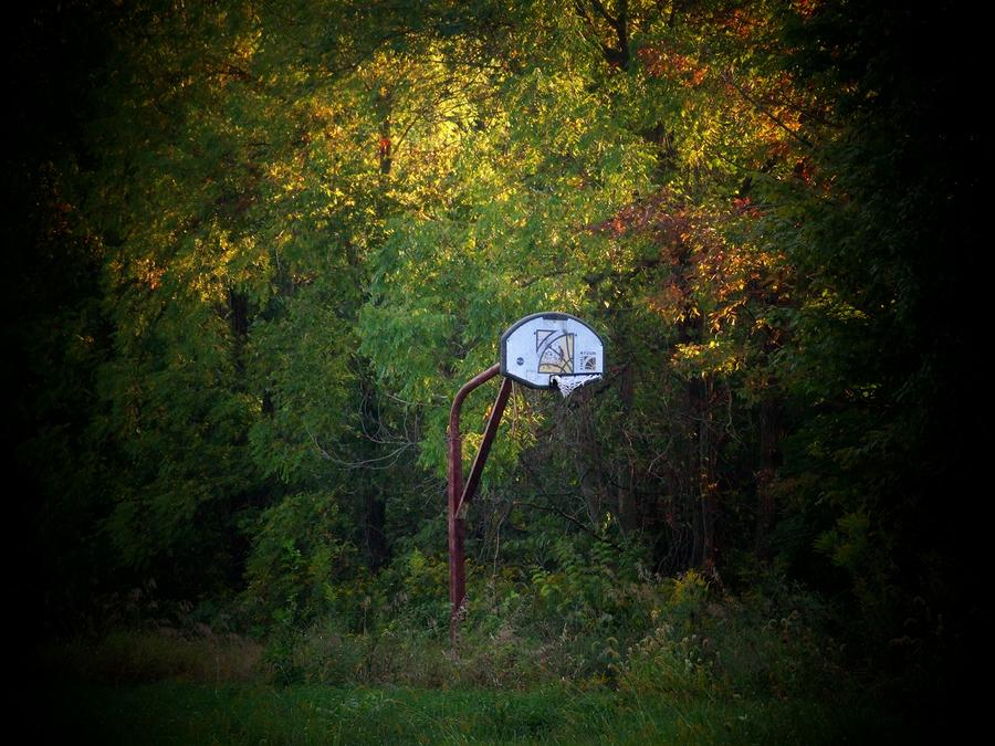 Forgotten Hoop Photograph
