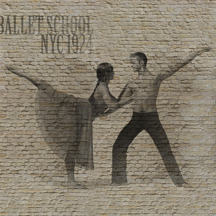 Dancer Photograph - Forgotten Romance 2 by Naxart Studio