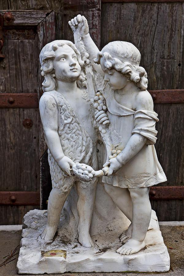 Forgotten Statue Photograph
