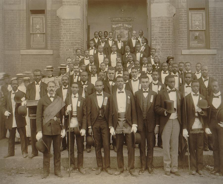 History Photograph - Formally Dressed African American Men by Everett