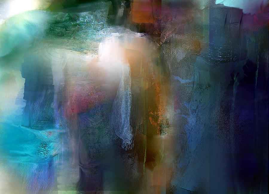 Forming Continuation Painting by Davina Nicholas
