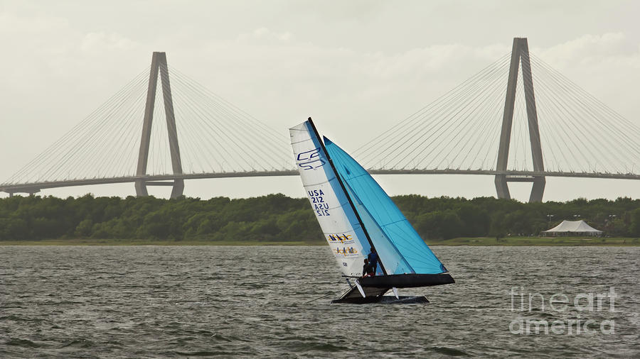 Formula 18 Sailing Cat Big Booty Charleston Sc Photograph