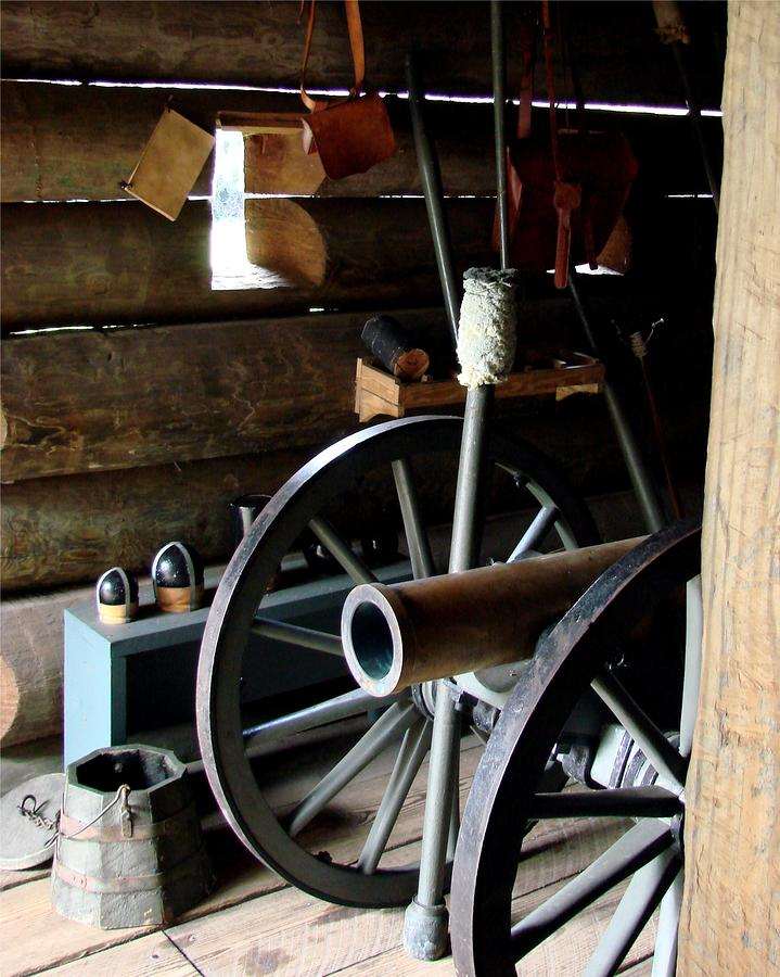 Fort Foster Cannon Photograph