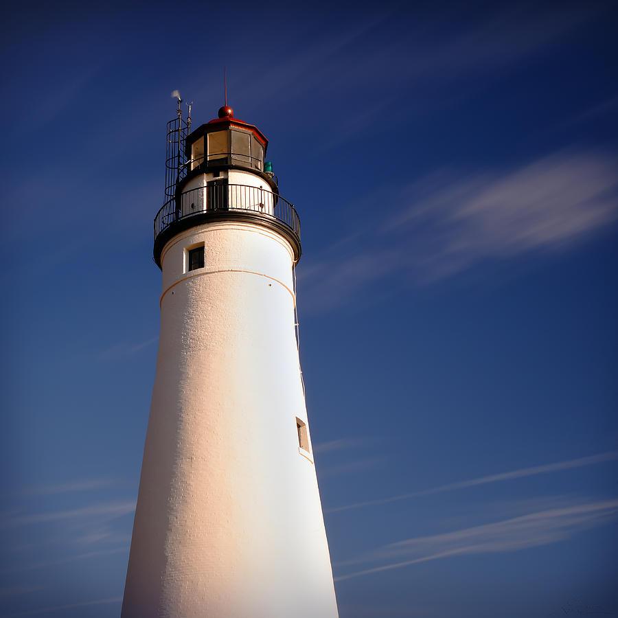 Fort Photograph - Fort Gratiot Lighthouse by Gordon Dean II