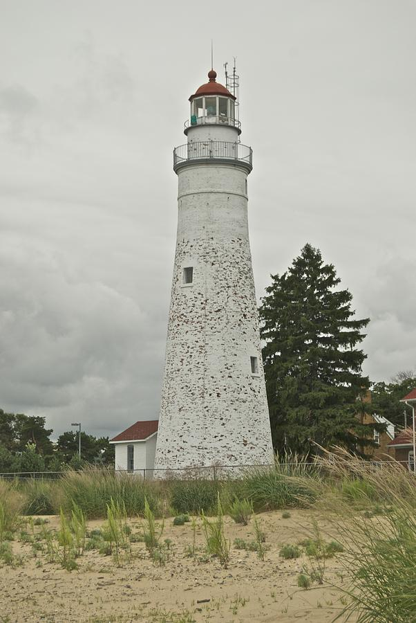Lighthouse Photograph - Fort Gratiot Lighthouse by Michael Peychich