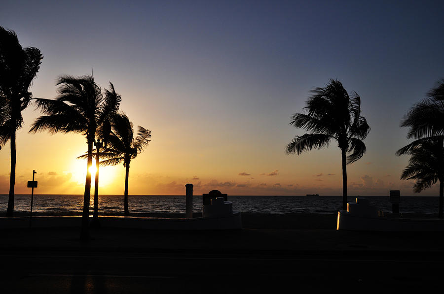 Fort Lauderdale Beach Sunrise Photograph  - Fort Lauderdale Beach Sunrise Fine Art Print