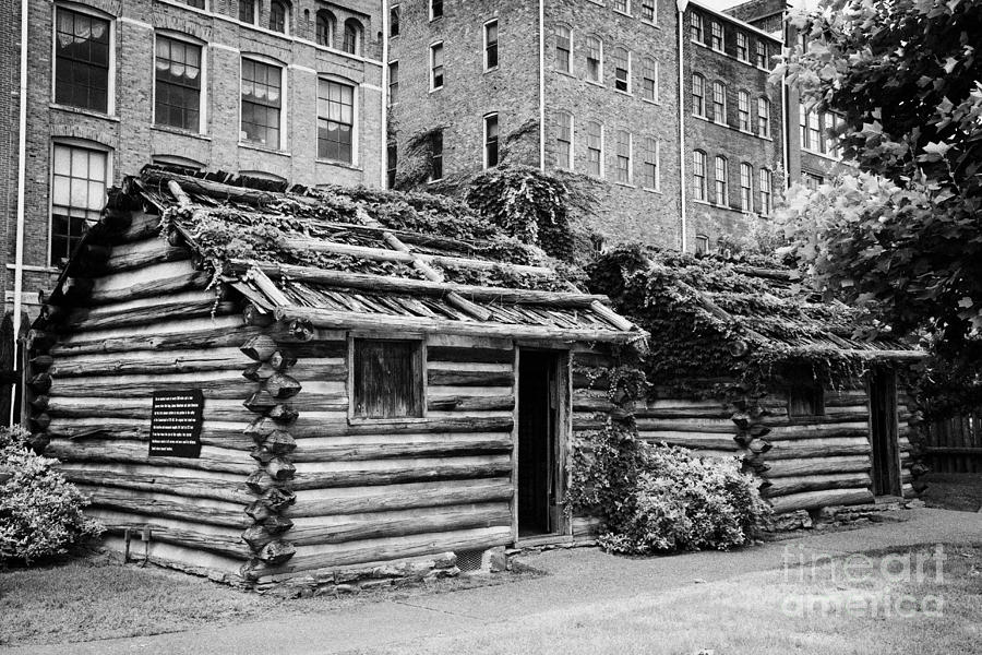 fort nashborough stockade recreation Nashville Tennessee USA Photograph  - fort nashborough stockade recreation Nashville Tennessee USA Fine Art Print