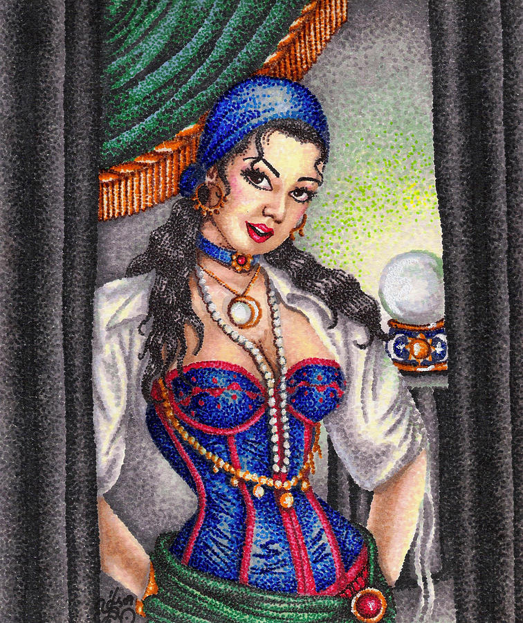 Fortune Teller Drawing